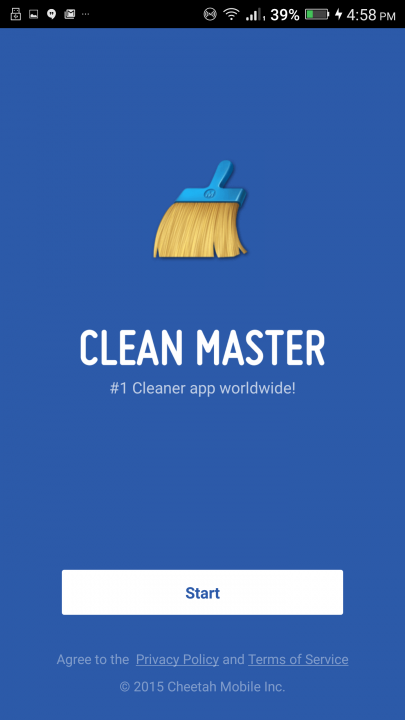 clean master screen start 720x720 - Download Clean Master